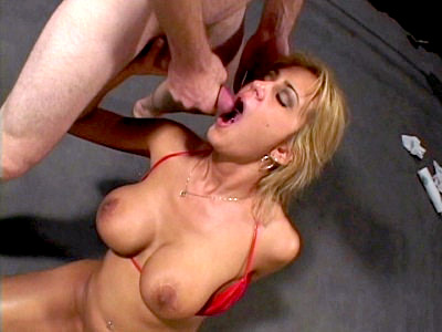Trina Cum Hosed Blonde